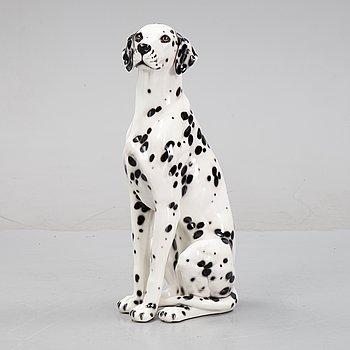 A 1970's porcelain dalmatian figurine.