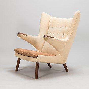 "Hans J Wegner, a ""Papa Bear"" model AP19, AP-stolen, Denmark, 1950-60's. Design year 1951."