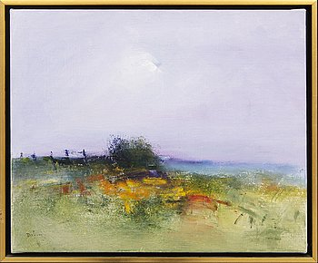 Rolf Dalin, oil on canvas, signed.