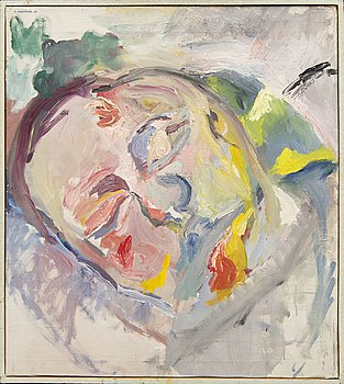 Birgitta Liljebladh, a signed and dated oil on canvas.