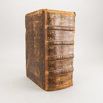 Arild Huitfeldt, book danish history, Copenhagen 1650 - 55.