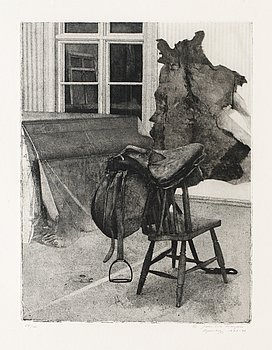 1. JOHN-E FRANZÉN, Interior.