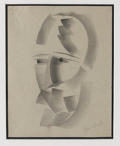 John jon-and, kubistiskt ansikte.