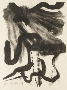 """421. Willem de Kooning, """"Woman with corset and long hair""""."""