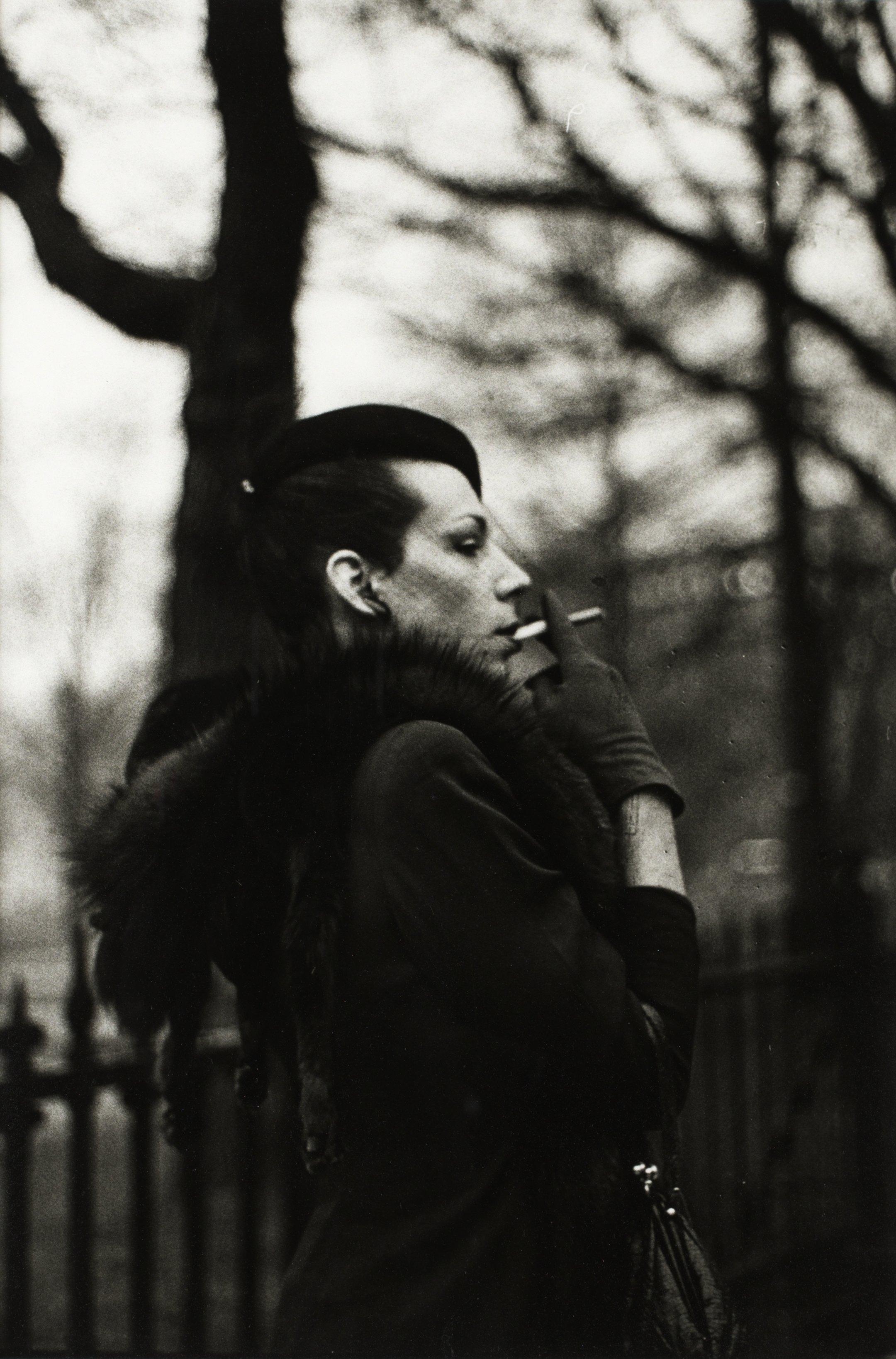 Nan Goldin Quot Ivy In The Boston Garden Boston 1973