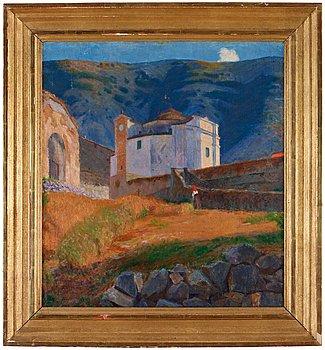 13. Karl Isakson, Kyrka, Cività d'Antino.
