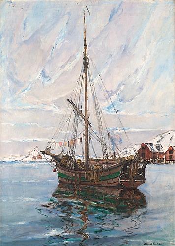 "Rikard lindström, ""jakt, lofoten""."