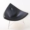 "FÅtÖlj. ""coconut"", design george nelson, vittra, formgiven 1955."
