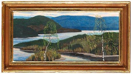 "Per julius, the river ""Ångermansälven""."