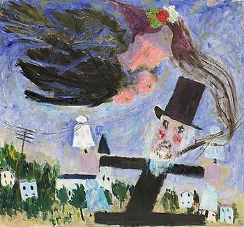 """54A. RAGNAR SANDBERG, """"Poeten"""" (""""Vision"""")."""