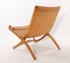 """Stol, """"folding chair"""", design hans j wegner, johannes hansen danmark."""