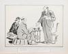Parti teckningar. 16 st, bl.a.från skämttidningen kasper och konsumentbladet.