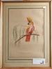 Litografiska tryck, 2 st, kolorerade, 1800/1900-tal.