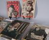 Samling tidskrifter, ca 120 st, om greta garbo, 1923 1972