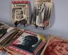 Samling tidskrifter, ca 120 st, om greta garbo, 1923-1972.