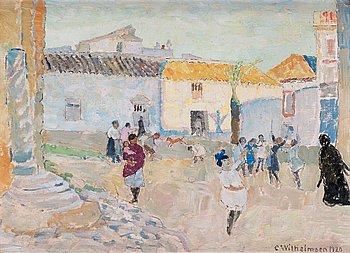 """36. Carl Wilhelmson, """"La Plaza d'Agutarniente""""."""