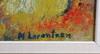 Lorentzon, monica, olja på pannå, sign.