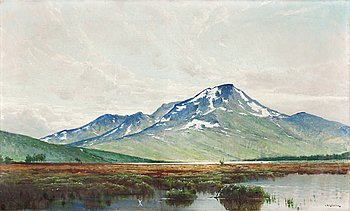 239. Arvid Mauritz Lindström, Mountains in northern Sweden.