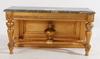 Konsolbord. nyrokoko, 1800-talets senare hälft.