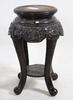 Pidestaler, ett par, trä, sydostasien. 1900-tal.