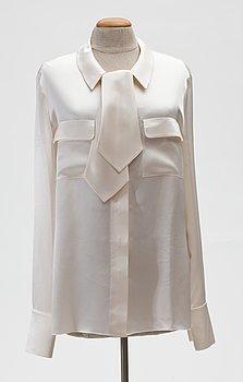 7. A Chanel silk blouse , prob 1998.
