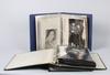 Album med fotografier, 3 st, greta garbo, sammanlagt ca 130 fotografier