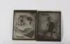 FotonegativplÅtar, 2 st, glas, metro goldwyn mayer, filmen ninotchka från 1939