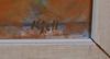 Leander engstrÖm, kjell. 2 st oljemålningar samt 1 st pastell. sign