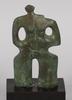 "Skulptur, brons, märkt ""calabrie 008"""