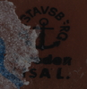 Parti stengods, 2 delar, lisa larson resp karin björquist, gustavsberg