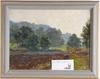 Holmgren, vilhelm, olja på pannå, 4 st, sign o dat 1912-1919.