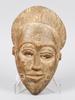 Masker, 3 st, trä, afrika, bla senegal och elfenbenskusten, 1900-tal.