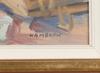 Hamborn, axel, 2 st, olja på pannå, sign.