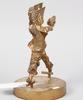 Skulptur, brons, enligt uppgift g. friberg.