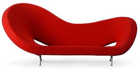 A ron arad 'victoria and albert' sofa for moroso, italy.