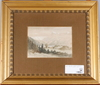 Billing, theodor, akvarell, sign o dat 27 januari 1859.