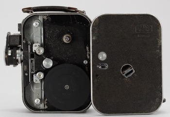 MOTION PICTURE CAMERA, Zeiss Ikon Movikon, Germany, 1930s-40s.