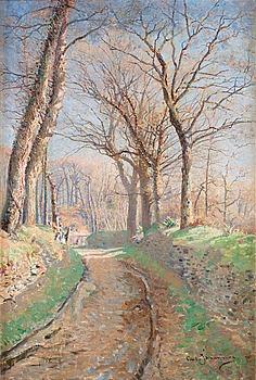1. CARL JOHANSSON, Spring landscape.