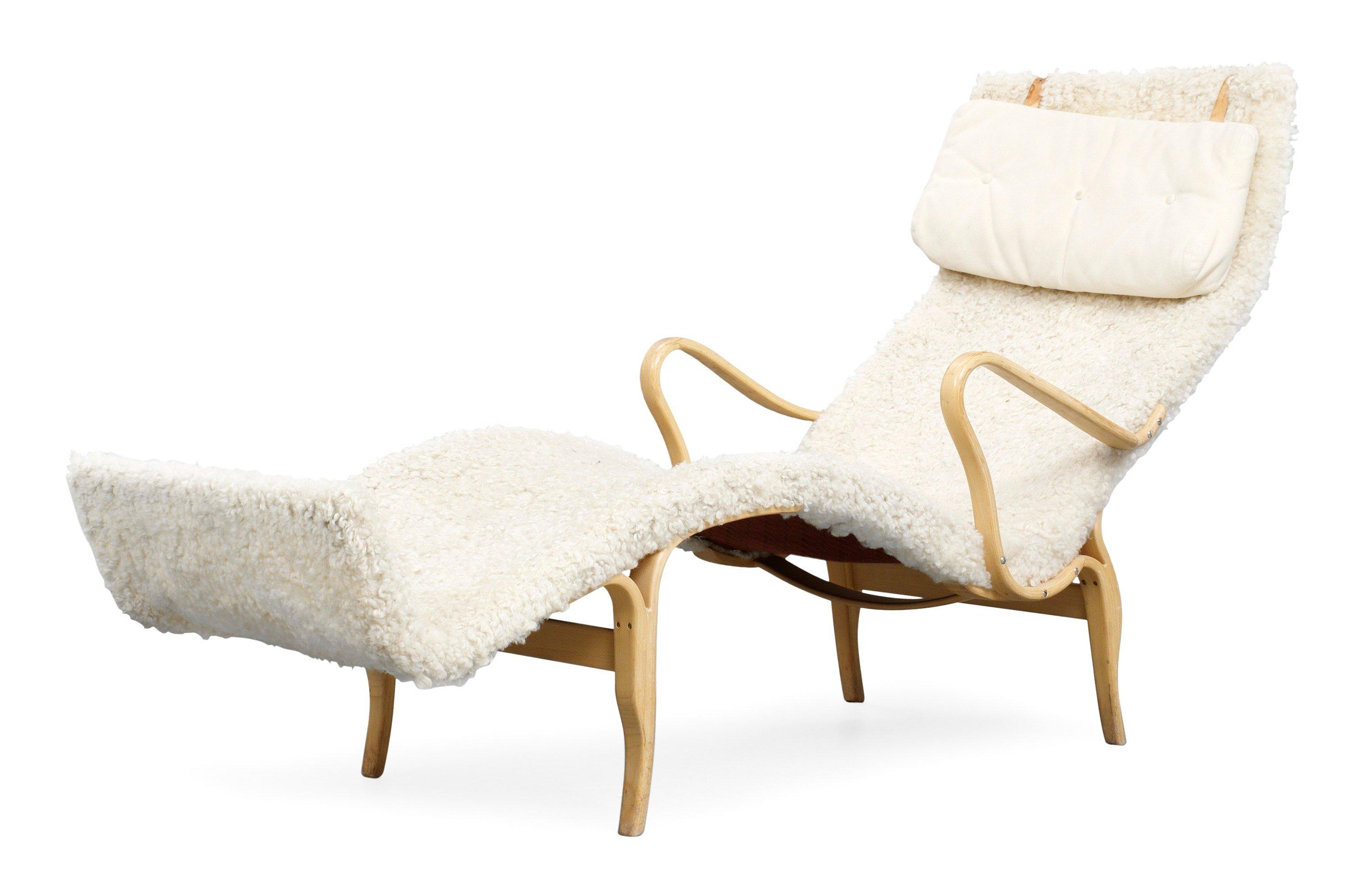 """A Bruno Mathsson """"Pernilla 3"""" lounge chair for Karl Mathsson"""
