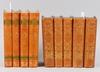 BÖcker, 9 st, musik. halvfranska skinnband. tryckta 1861 resp 1951.