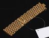 Armband, 18k guld, märkt 750, deposita, 1900 tal. vikt 84 gram