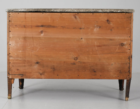 A gustavian commode by j. hultsten, not signed.