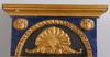 Spegel, empire, etikettsmärkt erik gustaf silfvernagel, hudiksvall. verksam 1821-29.