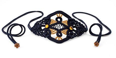 An yves saint laurent belt.