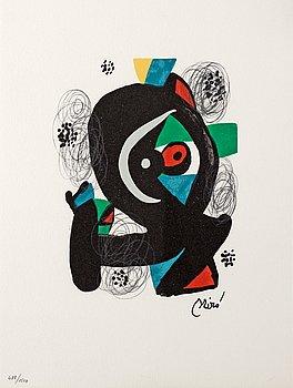 "110. Joan Miró, ""Le mélodie acide""."