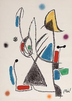 """575. Joan Miró, """"Maravillas con variaciones acrósticas en el jardin de Miró""""."""