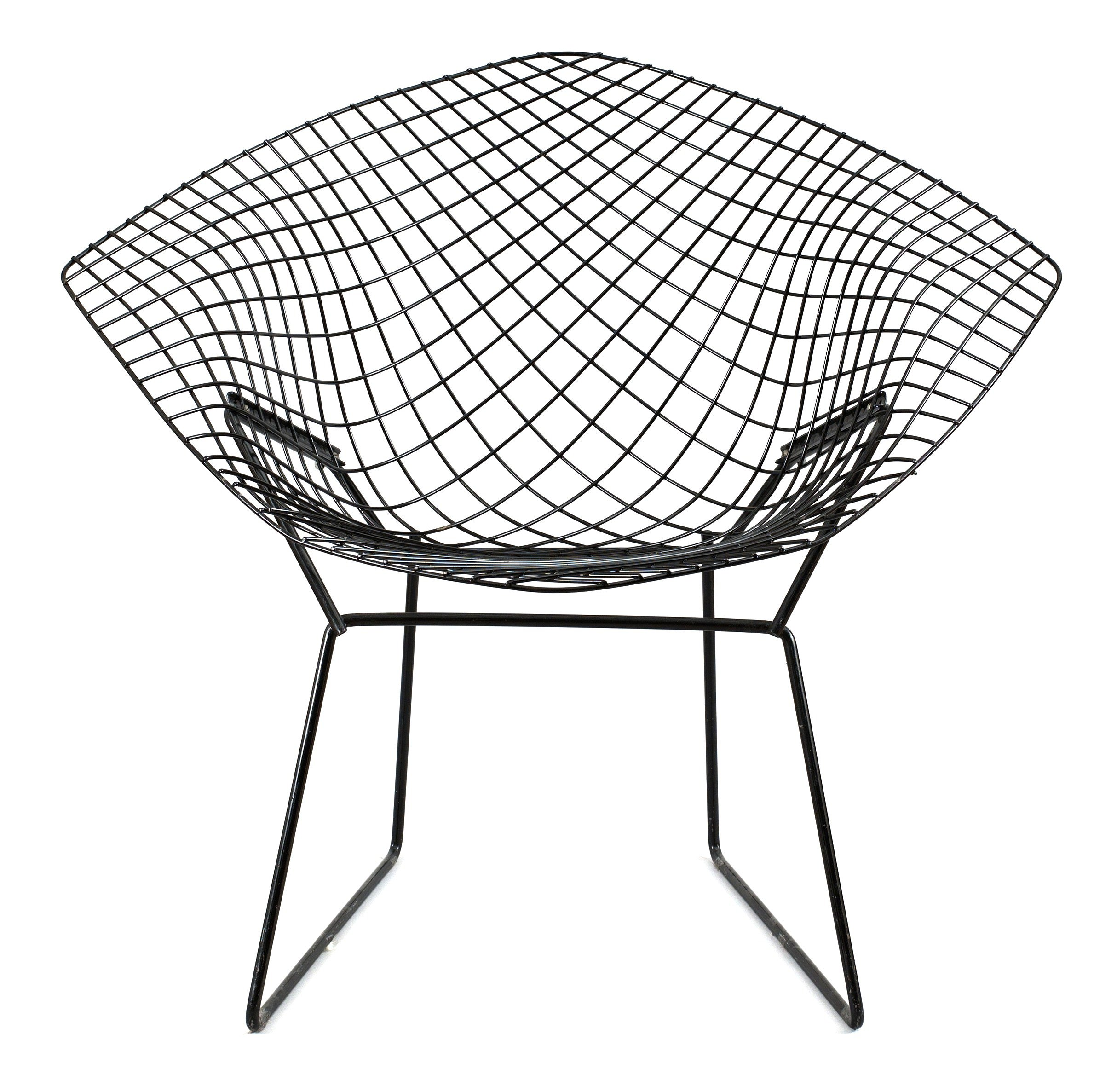 a harry bertoia black metal diamond chair bukowskis. Black Bedroom Furniture Sets. Home Design Ideas