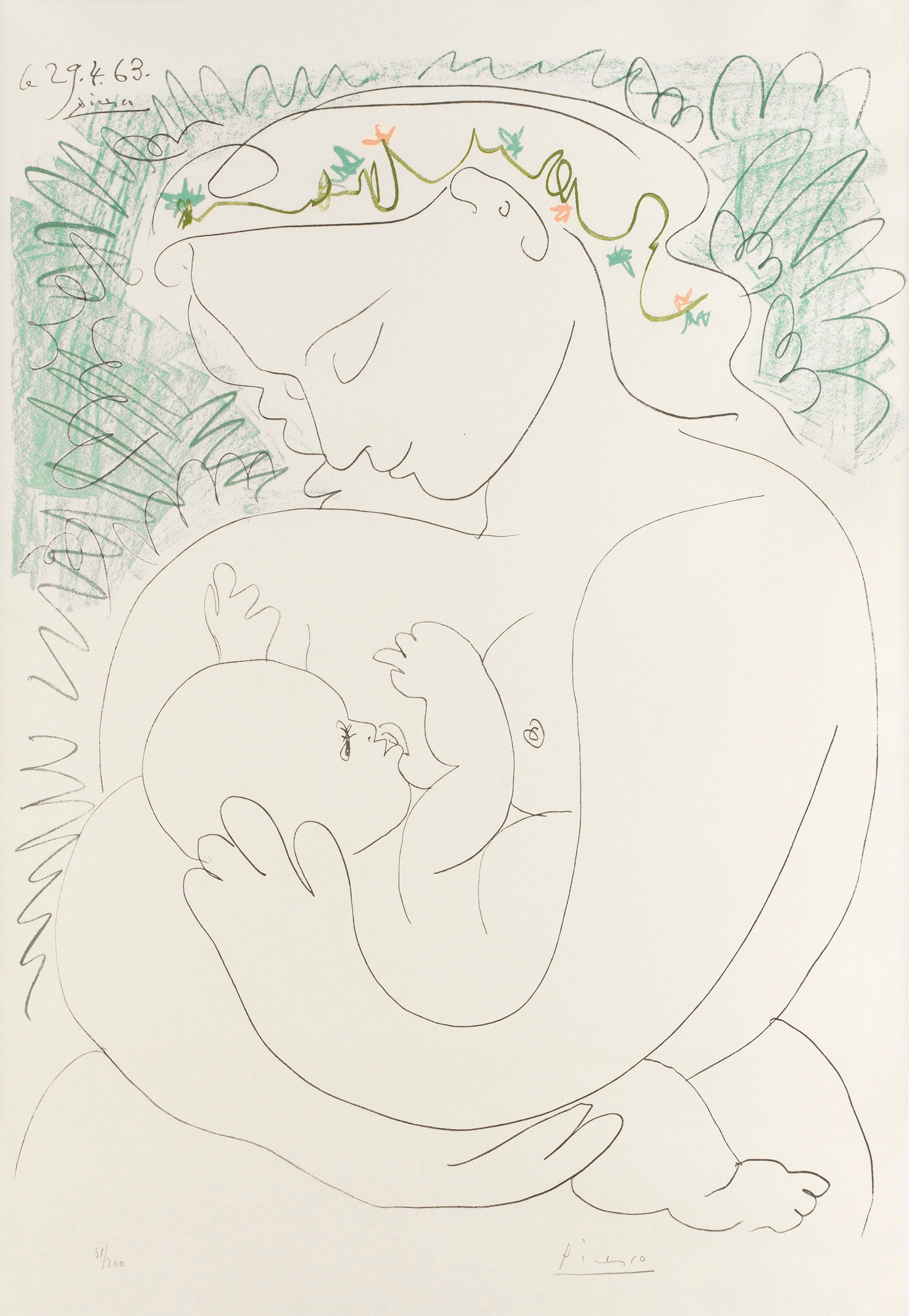 PABLO PICASSO (After), \