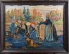 OkÄnd konstnÄr, olja på duk, 1900-tal. sign o dat. 1921.