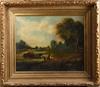 OkÄnd konstnÄr, olja på duk, 1800-tal. troligen england.